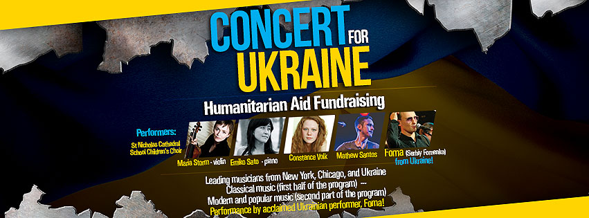 Concert for Ukraine Header