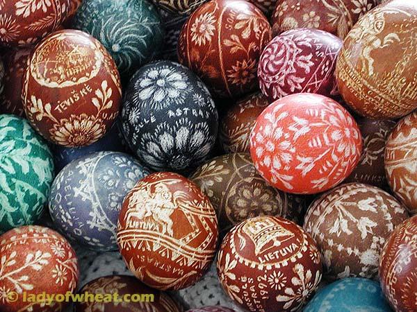 Ursula Astras Easter Eggs 95c © ladyofwheat.com