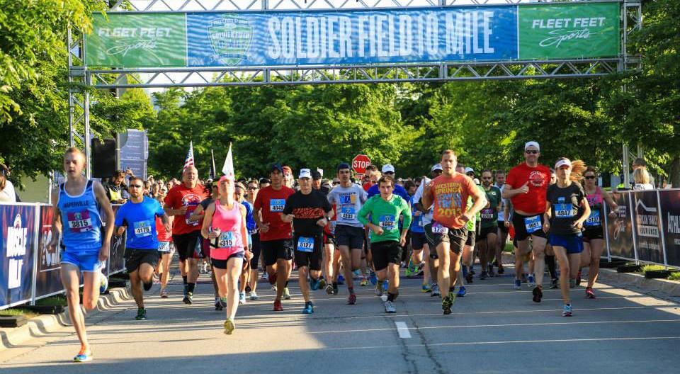 Soldier Field 10 Mile Run 2