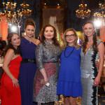 Tatiana Nagornova; Laura Yergesheva (Executive Member of the Moscow Committee of CSCI); Albina Shagimuratova; Anastasia Herasimovich; and Aleksandra Efimova (Co-Chair of the Moscow Committee of CSCI)