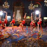 Vitrychencko Gymnastics Academy performs