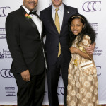 Mayor Rahm Emanuel and Honorary Consul General of the Union of Comoros Charif Hachim and Rookeeya Hachim