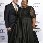 Mayor Rahm Emanuel and Consul General of the Republic of South Africa Vuyiswa Tulelo