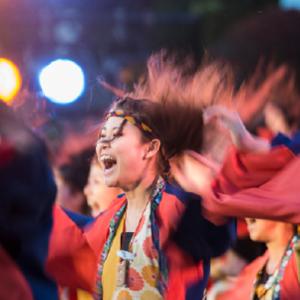 17. Kiyotaka Shishido. Sendai, Miyagi. October 11, 2014 - Dancers of the Michinoku Yosakoi Festival. Kizuna Archive 2015